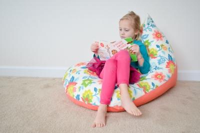 Кресло-мешок для малыша за 30 минут