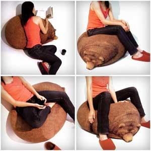 Бескаркасная мебель - мягкие бескаркасные кресла