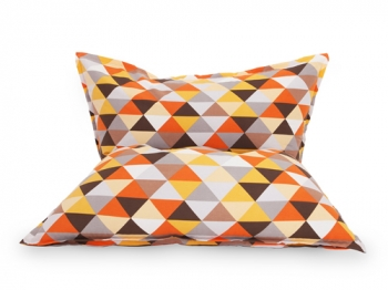 Кресло подушка Diamonds Orange
