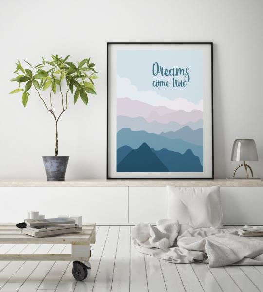 """Скачайте новые постеры """"Dreams come true"""""""