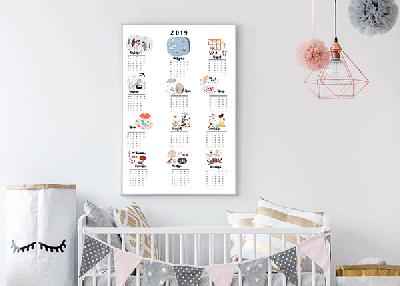 Стильный календарь для вашего интерьера