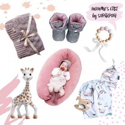Список полезных вещей для мамы и малыша