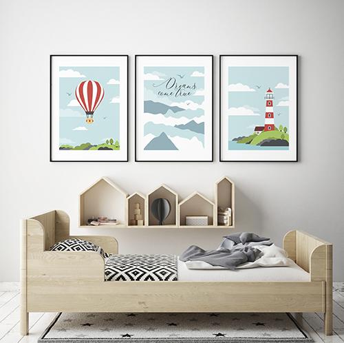 Скачайте и распечатайте новые постеры для детской