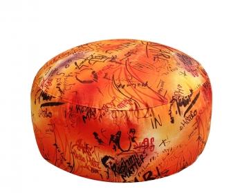 Кресло таблетка Maxi Graffity Orange
