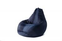 Кресло мешок груша L Oksford Dark Blue