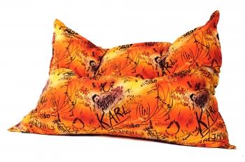 Кресло подушка Graffity Orange