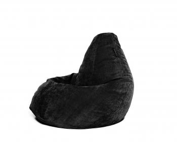 Кресло мешок груша XL Black Velvet