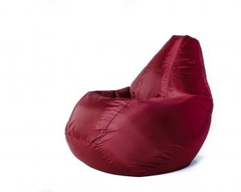 Кресло мешок груша L Oksford bordo