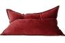 Кресло подушка Bordo Velvet бордовое