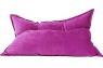 Кресло подушка Malina Velvet малиновое