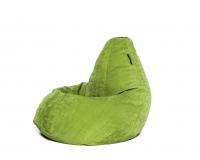 Кресло груша L Green Velvet зеленое
