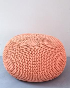 Вязаный пуф Peach