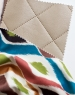 Треугольное кресло Leather Beige