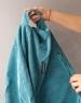 Кресло мешок груша XL Turquoise Velvet