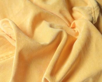 Ткань для кресла мешка Yellow Velvet