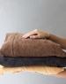 Кресло подушка Black Velvet черное