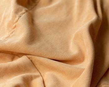 Ткань для кресла мешка Mustard Velvet