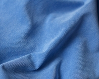 Ткань для кресла мешка Light Blue Velvet