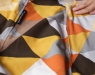 Кресло мешок XXL Diamonds Orange