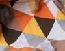 Декоративная подушка Diamonds Orange