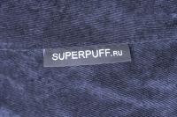 Ткань для кресла мешка Dark Blue Velvet