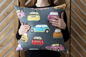 Декоративная подушка Mini Cooper