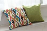 Подарок: комплект подушек Velour Morocco + Velour Green