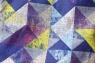 Декоративная подушка Diamonds Violet ромбы