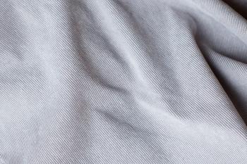 Ткань для кресла мешка Light Gray Velvet