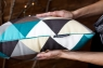 Декоративная подушка Diamonds ромбы