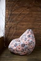Кресло мешок груша XL Carpet Brown