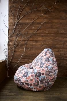 Кресло мешок груша XXL Carpet Brown