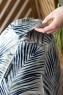 Кресло груша XL Tropics Gray