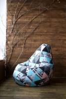 Кресло мешок груша XL New York