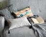 Подушка декоративная Velour Light-Gray