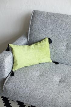 Подушка декоративная Velour Green