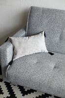 Подушка декоративная Velour Light Gray