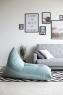Треугольное кресло Velour Mint