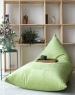 Треугольное кресло Velour Green