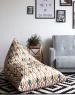 Треугольное кресло Velour Morocco