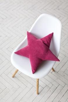 Подушка звезда Malina Velvet