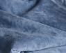 Кресло мешок L Gray-Blue Velvet