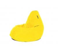 Кресло груша XXL Yellow Velvet желтый