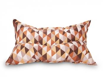 Кресло подушка Diamonds Brown