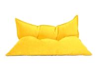 Кресло подушка Yellow Velvet желтое