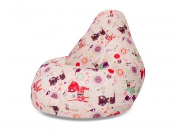 Кресло мешок груша XXL Cats