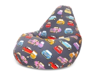 Кресло мешок груша XXL Mini Cooper