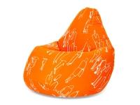 Кресло мешок груша L Orange People