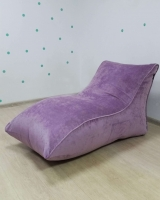 Лежак Purple Velour