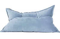 Кресло подушка Light-GrayBlue Velvet светло серо-голубое
